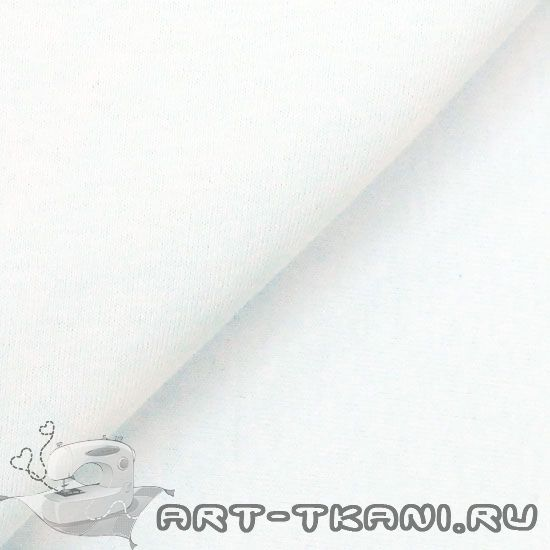 Лоскут трикотажной ткани Белый