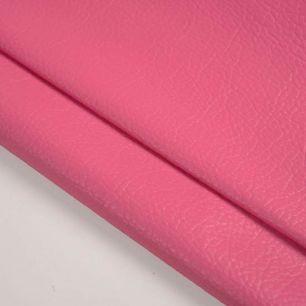 Кожзам для кукольных ботиночек - ярко-розовый, 25*23 см