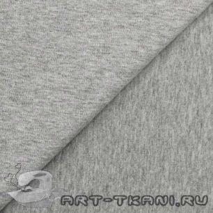 Лоскут трикотажной ткани Серый меланж